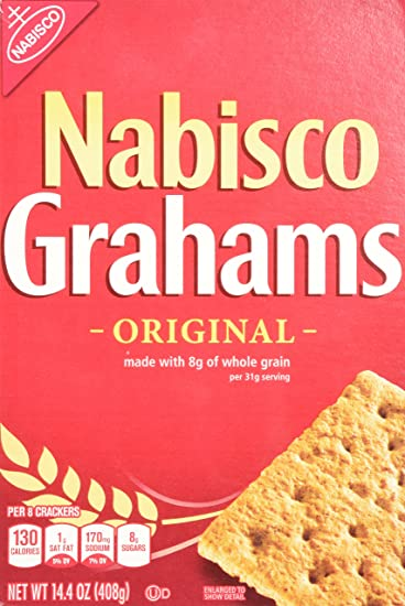 amazon com nabisco grahams original crackers 444880 14 4 oz