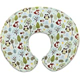 Chicco 06079902720000 Boppy Cuscino Allattamento, Multicolore (Woodsie Cream Life Tree)