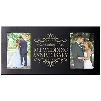 10th Wedding Anniversary Picture Frame Gift For Couple10th Gifts Her10th