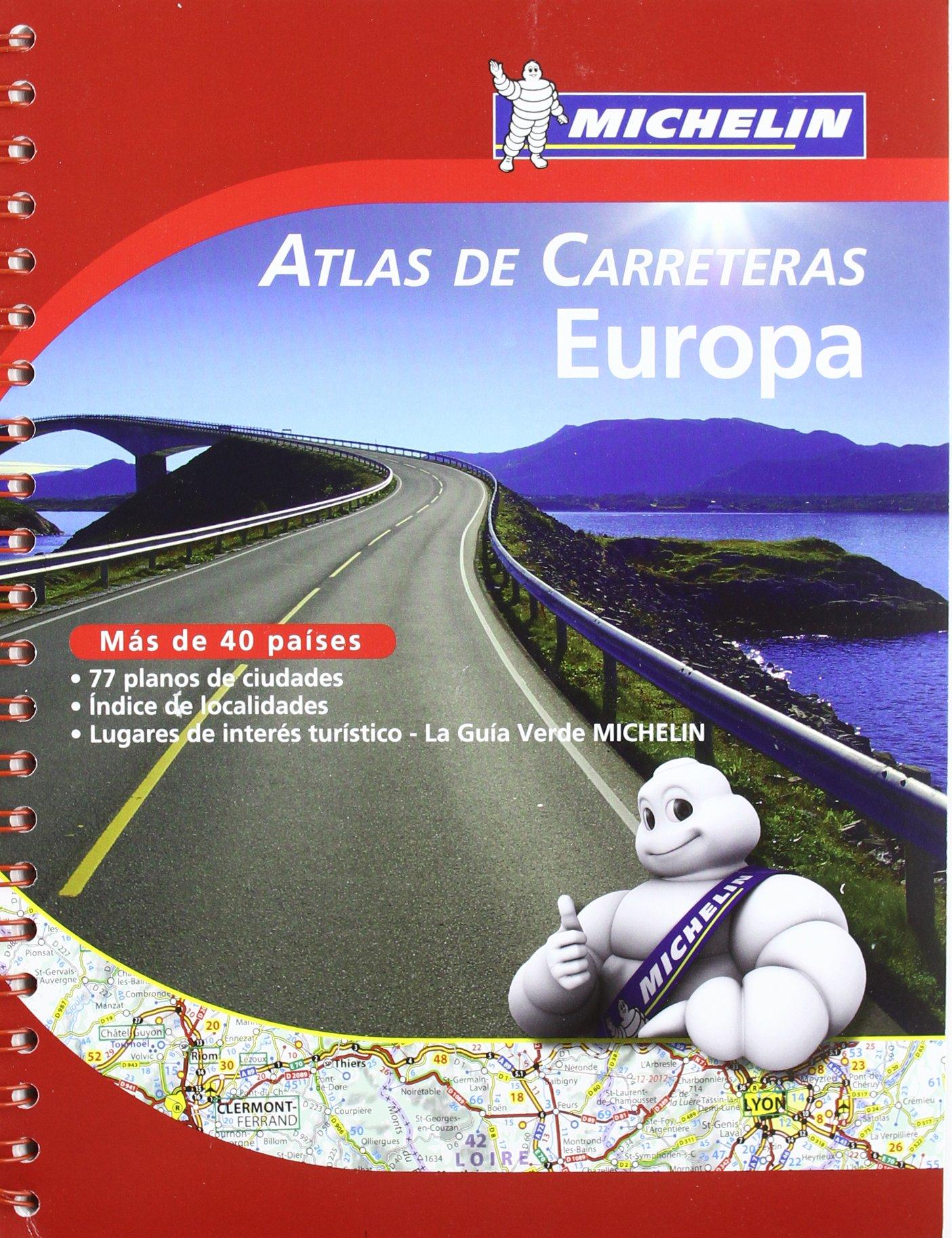 Europa Atlas De Carreteras Atlas De Carreteras Michelin Amazon Es