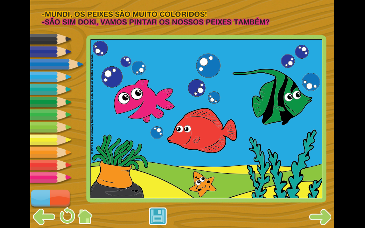 Amazon.com: Doki Explores the Ocean Lite - Discovery Kids - storybooks for children: Appstore for Android