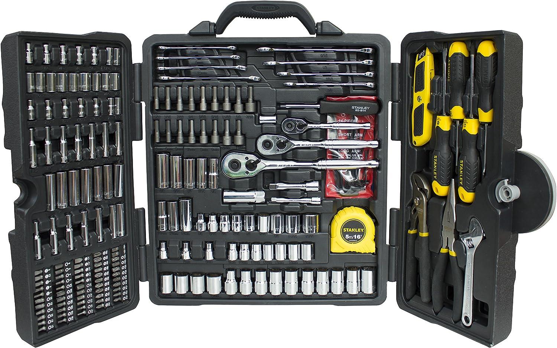 Stanley STHT5-73795 Conjunto de herramientas mixtas, Cromado, 210 Agujeros: Amazon.es: Bricolaje y herramientas