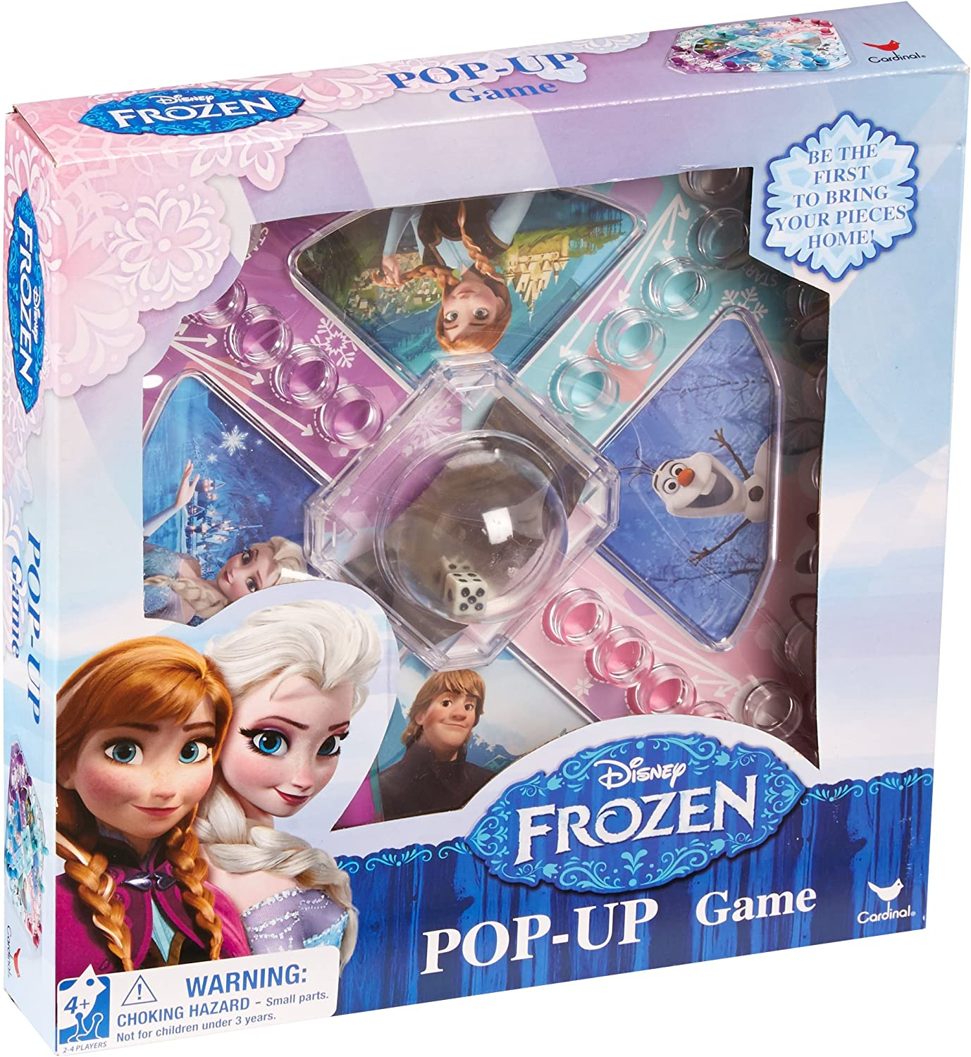 Pop Up Elsa and Anna Frozen Family Board Game Olaf Disney Games