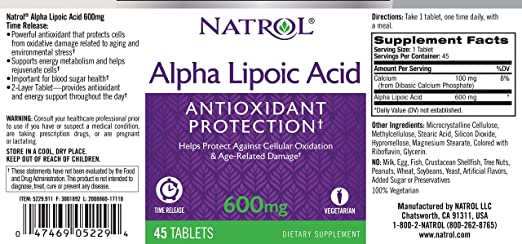 Картинки по запросу natrol  Alpha Lipoic Acid