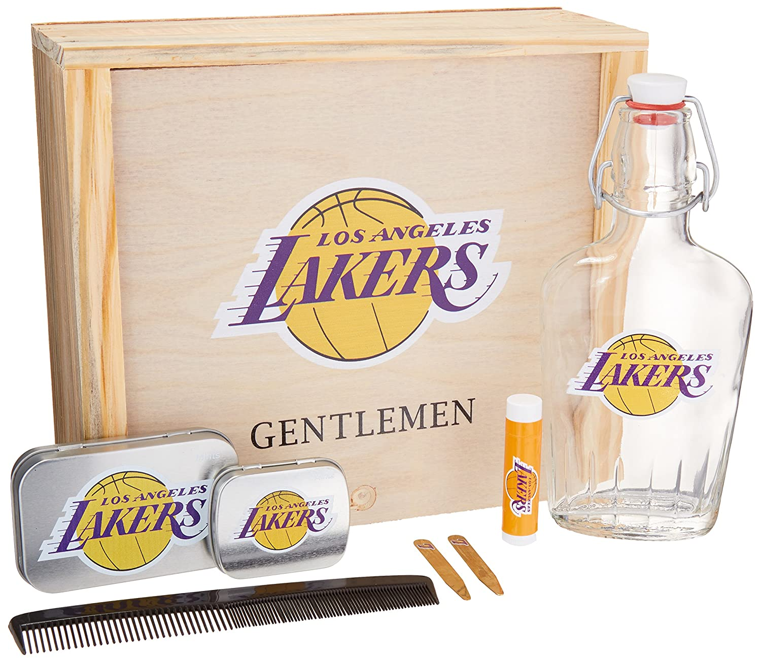 Amazon.com : NBA Los Angeles Lakers Gentlemens Gift Box Toiletry ...