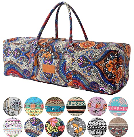 9ce919b7c4 DoYourYoga Yoga Mat Bag »Ghanpati« from made of 100% fine canvas ...
