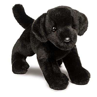 Douglas Brewster Black Lab Plush Stuffed Animal: Toys & Games