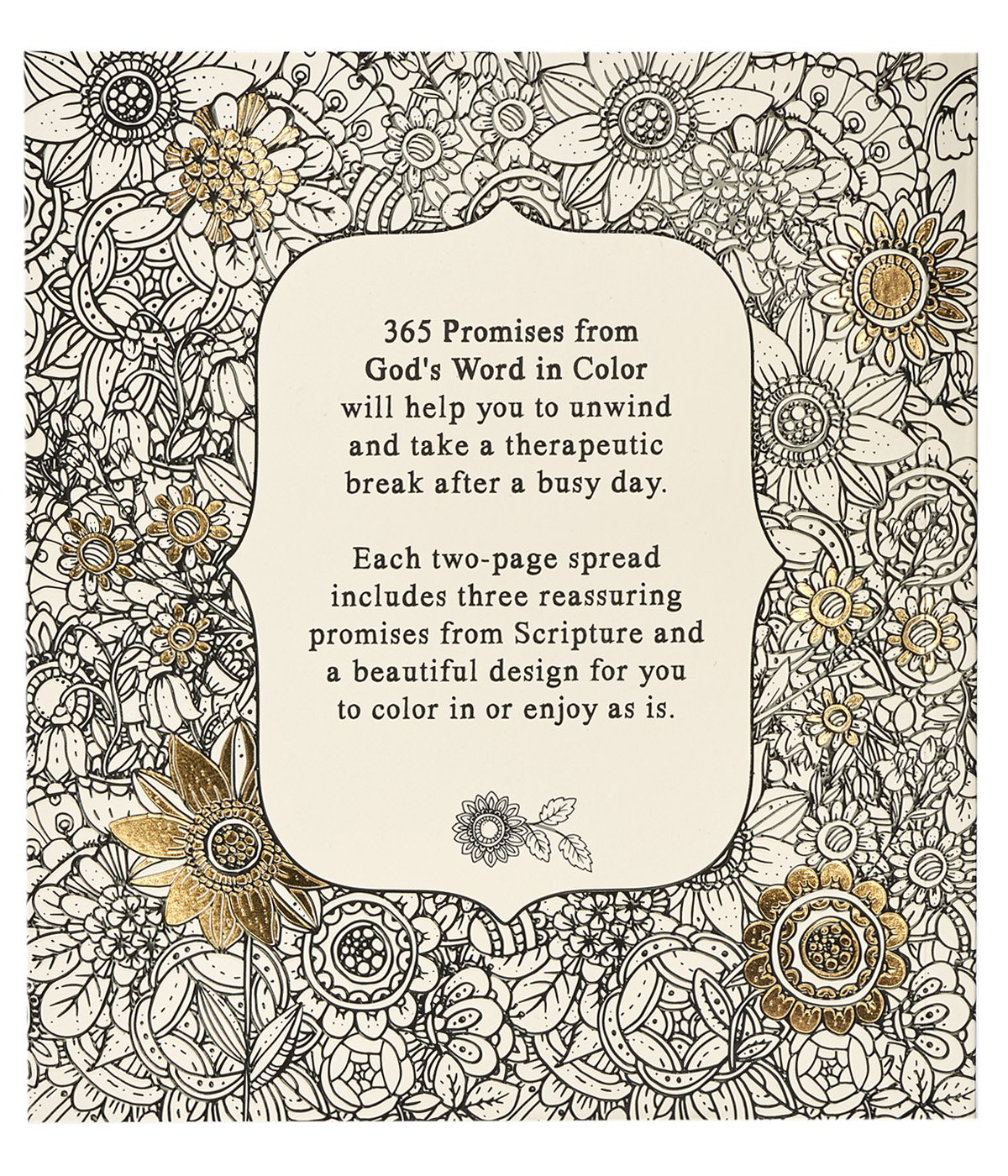 Coloring pages 365 - Amazon Com 365 Promises From God S Word In Color Scripture And Coloring Pages 9781432115951 Christian Art Publishers Corporate Author Books