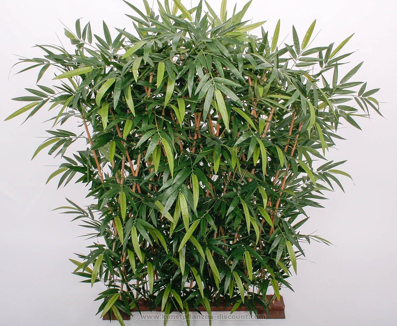 Bambushecke 3200 Blätter mit UV bzw Sonnenschutz in den
