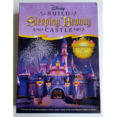Disney Build Sleeping Beauty Castle Kit (13576): Toys & Games