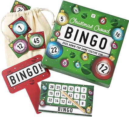 Talking Tables Juego de Mesa Fiestas de Navidad ENT-Bingo, Color: Amazon.es: Juguetes y juegos