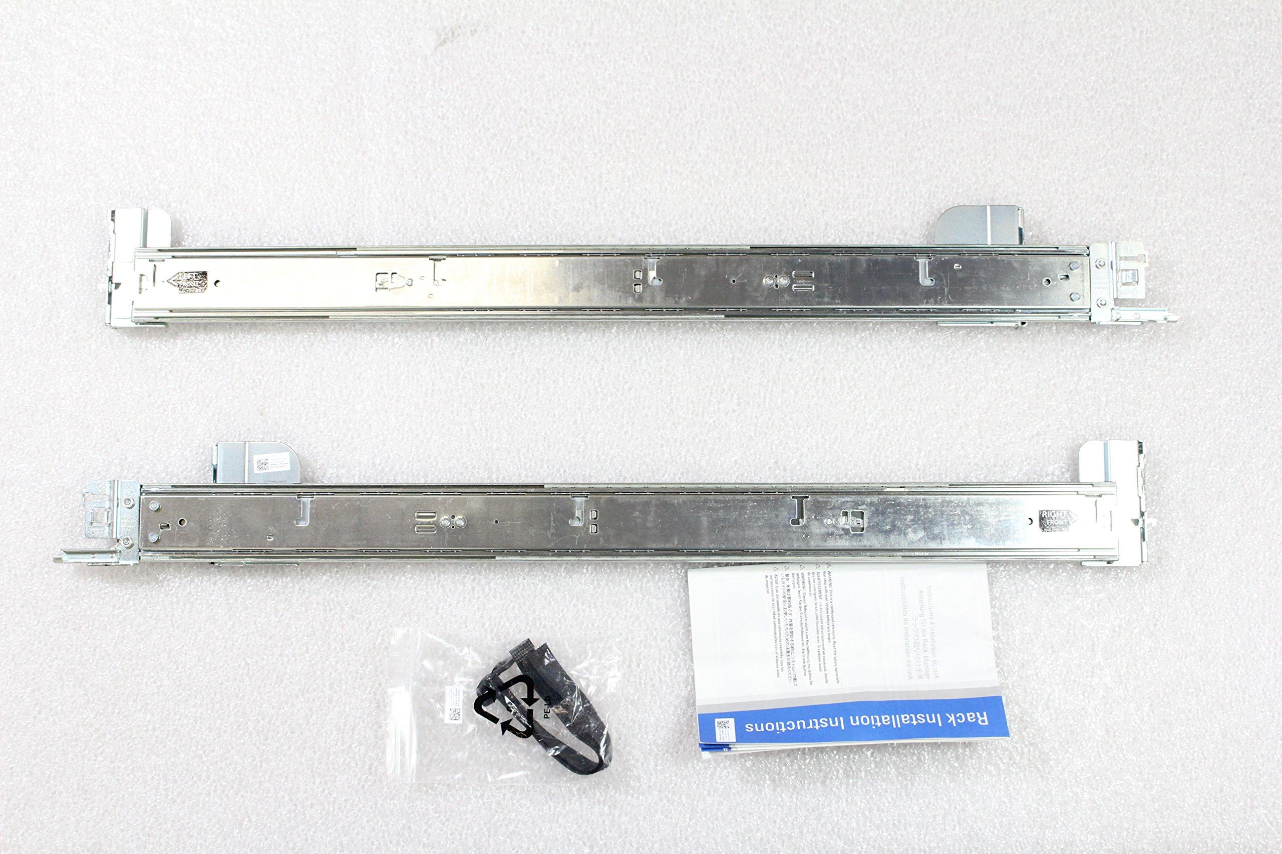 NEW IN BOX Dell PowerEdge R520 R720 R720XD R820 2U Sliding Ready Rail Kit H4X6X by Dell (Image #1)