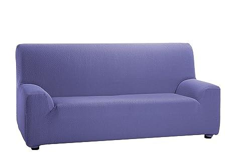 Martina Home Tunez - Funda elástica para sofá, Lila, 1 Plaza (70-110 cm)