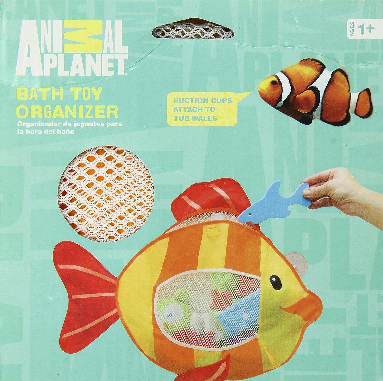 animal planet - organizador de juguetes para baño: amazon.es: bebé - Organizador De Juguetes Para Bano
