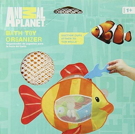 Animal Planet - Organizador de juguetes para baño