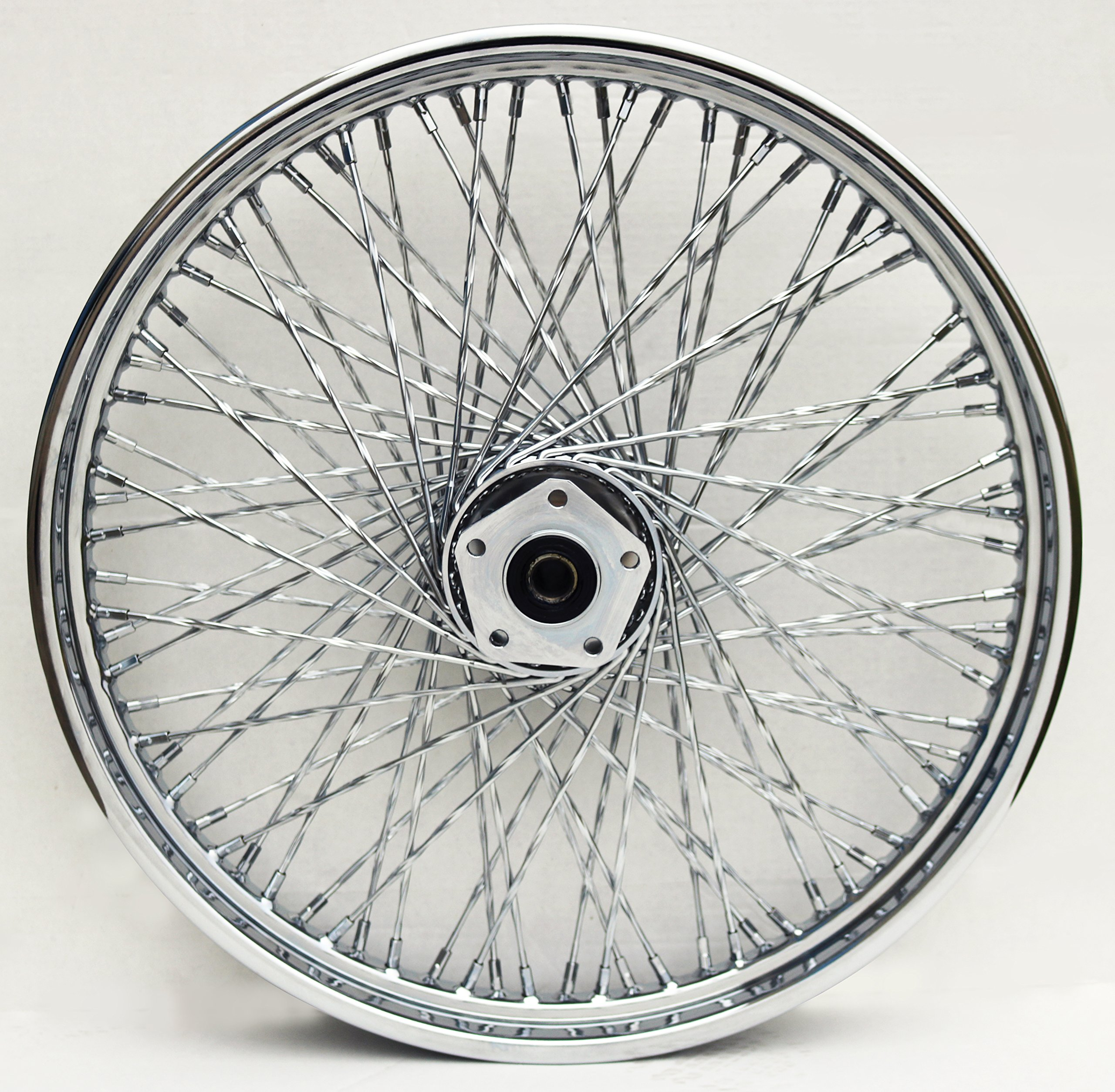 80 SPOKE 21'' X 2.15'' TWISTED WHEEL FOR HARLEY FXST FXDWG DYNA CHOPPER 1984-99 by Ultima / Midwest