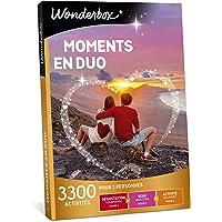 Wonderbox - Coffret cadeau de Noel pour couple - MOMENTS EN DUO – idée cadeau de noel - 3300 activités à partager