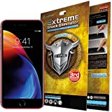 X.ONE Premium iPhone 7 Plus 8 Plus Screen Protector Extreme Anti Shock PET Film Plastic Cover Guard - Anti-Scratching, Shock Proof, Shatter Proof, Bubble Free Easy Application, Case Friendly