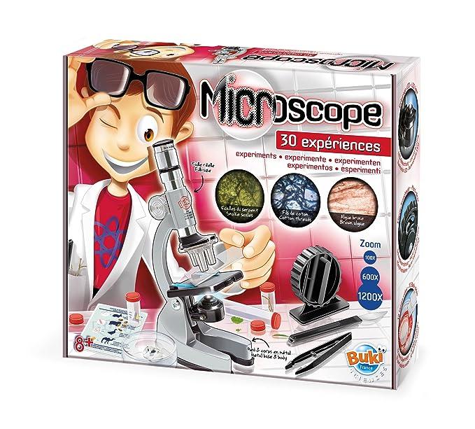 Microscope avec Expériences (Exemple)