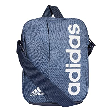 18a97e3f0b95 Adidas Shoulder Mini Bag Linear Organizer Graphic Training Unisex DJ1431  New (One Size)