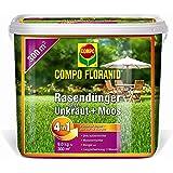 Compo césped 26173 contra Floranid o vegetación y moss 4-in-1 9 kg para 300 m²
