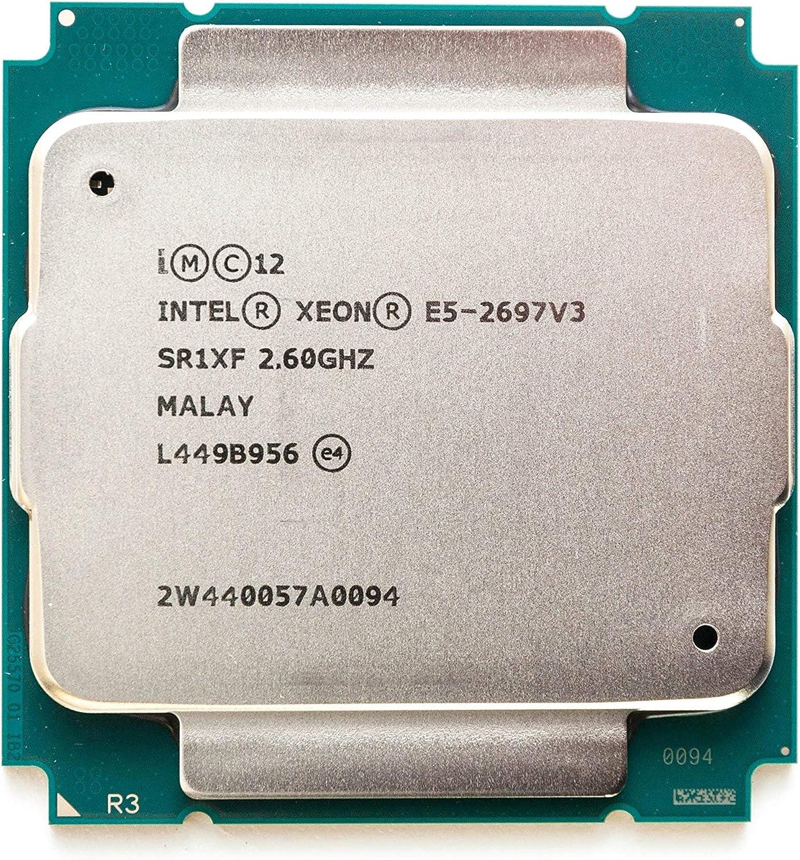 INTEL CM8064401807100 Xeon E5-2697 v3 Fourteen-Core Haswell Processor 2.6GHz 9.6GT/s 35MB LGA 2011-v3 CPU, OEM OEM (Renewed)