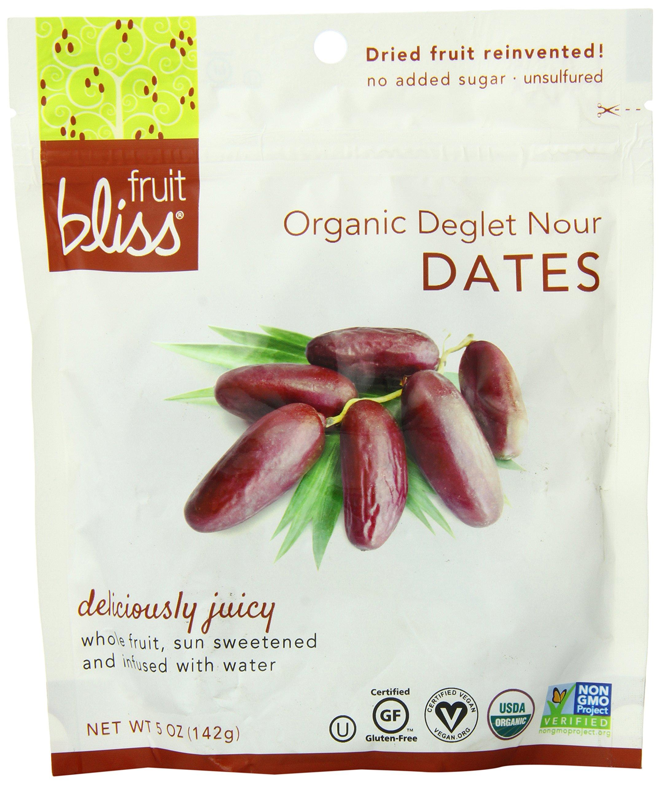 Fruit Bliss Organic Deglet Nour Dates - Date - 5 oz