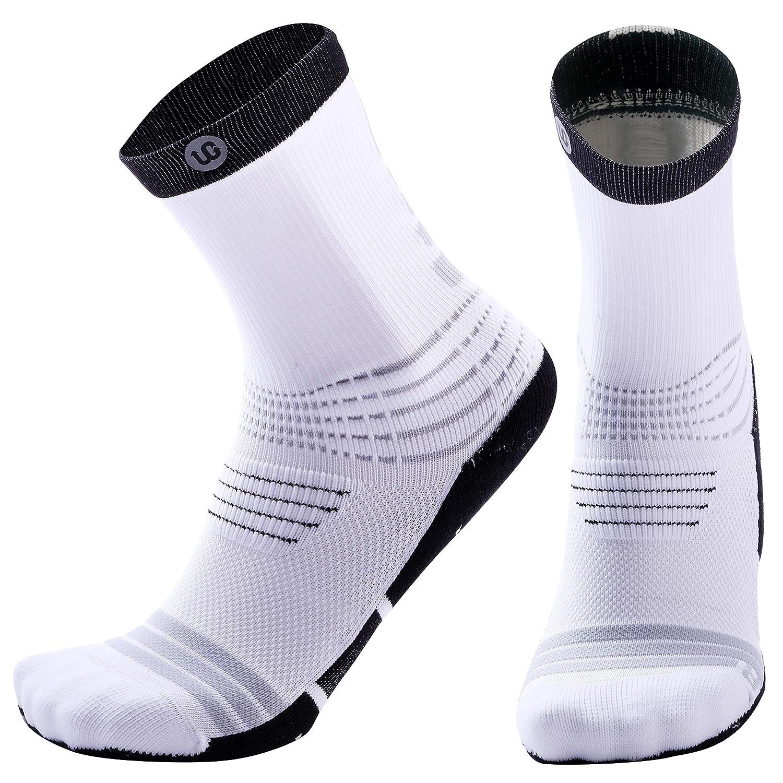 Elite Socks Basketball Compression Athletic Socks for Men Women Youth Boys Girls