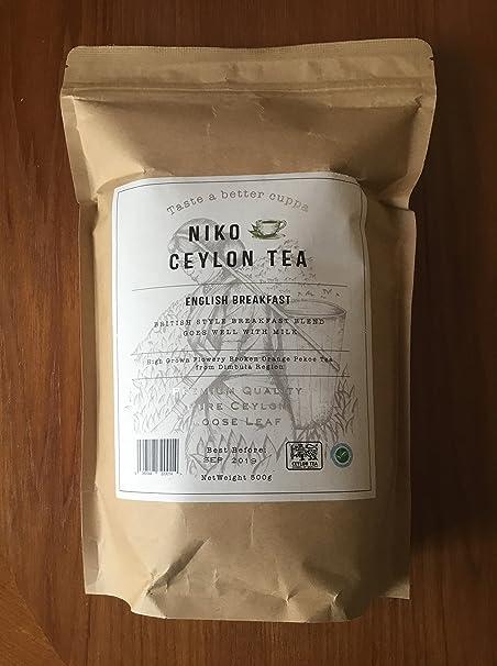 Ceylon Broken Orange Pekoe Tea - English Breakfast (500g Catering Pack)