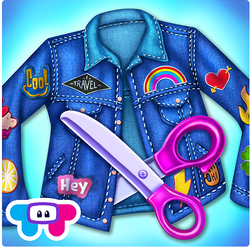 Patch It Girl! - Design DIY Patches & (Sparkle Game)
