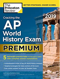 World history preparing for the advanced placement examination cracking the ap world history exam 2019 premium edition 5 practice tests complete fandeluxe Images