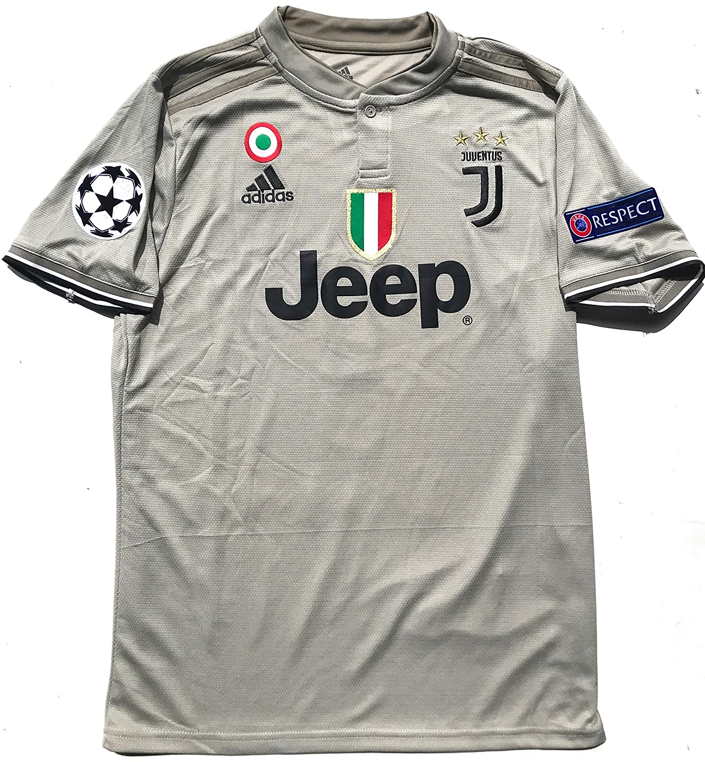huge discount 35338 6340f Le Roux Juventus FC 2019 Home Soccer Jersey Men Ronaldo No. #7 on The Back  All Patches - Logos as Original