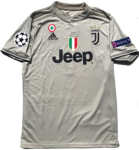 Le Roux Juventus F.C. 2019 Home Soccer Jersey Men Ronaldo No.  7 on The  Back All Patches - Logos as Original 23a74e1e5