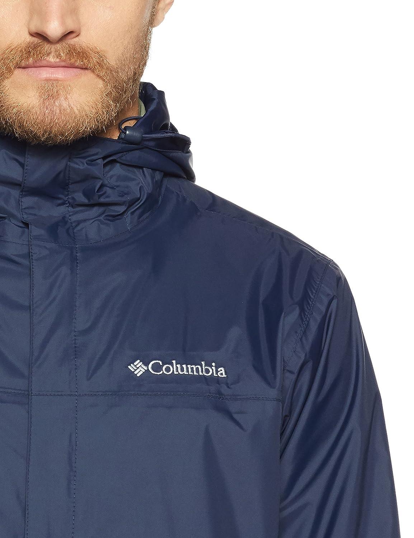Columbia Mens Watertight II Front-Zip Hooded Rain Jacket