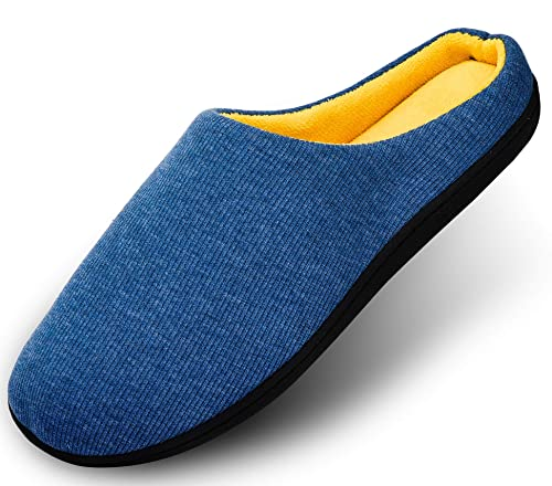 Zapatillas de casa Hombre Calienta Pantuflas Mujer Suave Algodón Slippers Memoria Espuma Ultra-Ligero Cómodo Antideslizante Zapatos caseros: Amazon.es: ...