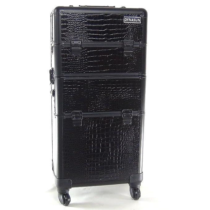 1 opinioni per Beauty Case Make Up DynaSun BS40BK XXL Nero Professionale con Disegno di Pelle