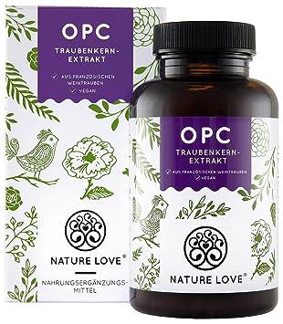 Nature Love Opc Traubenkernextrakt 180 Kapseln Premium Aus