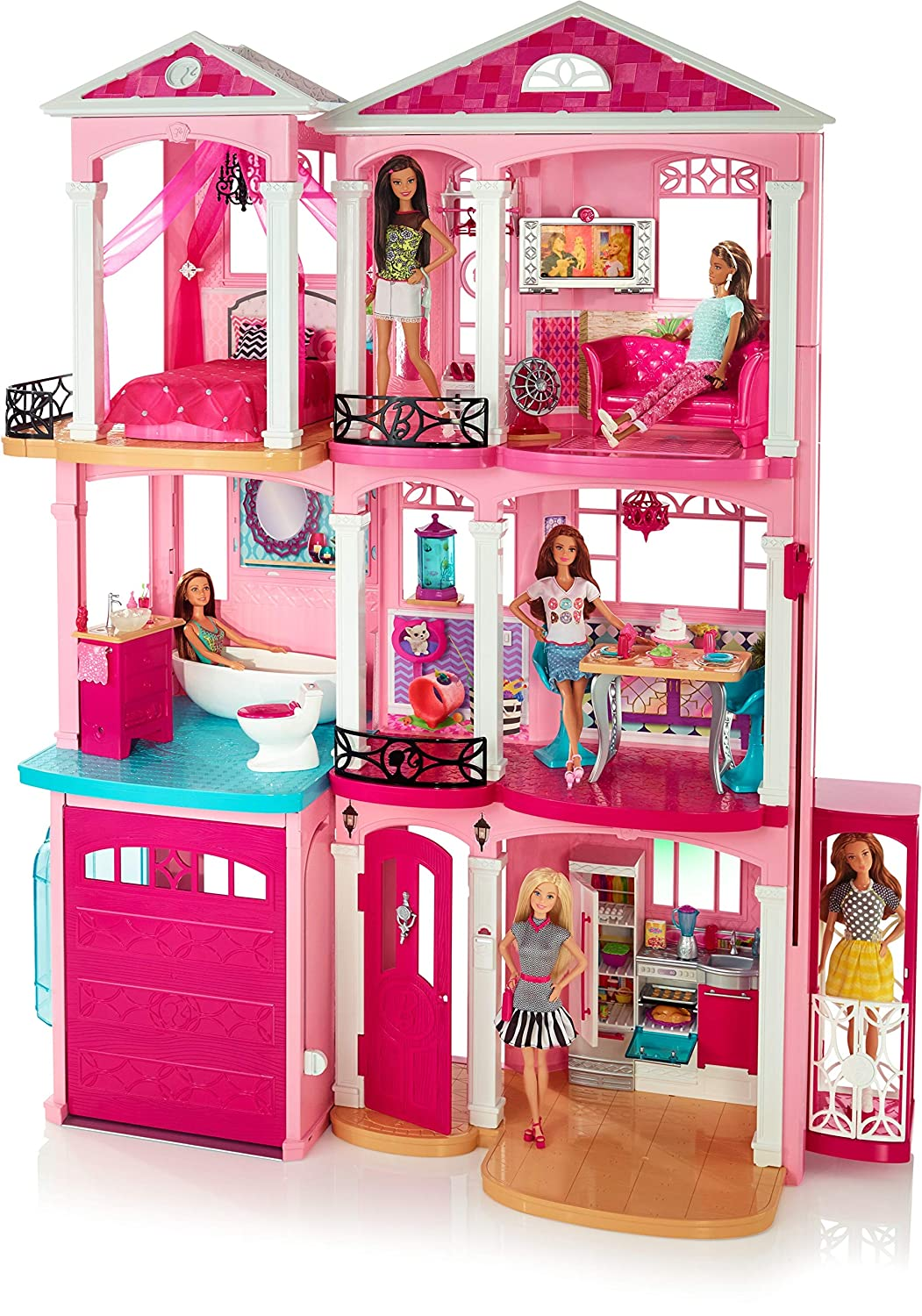 Barbie Dreamhouse, casa de muñecas (Mattel FFY84): Amazon.es ...