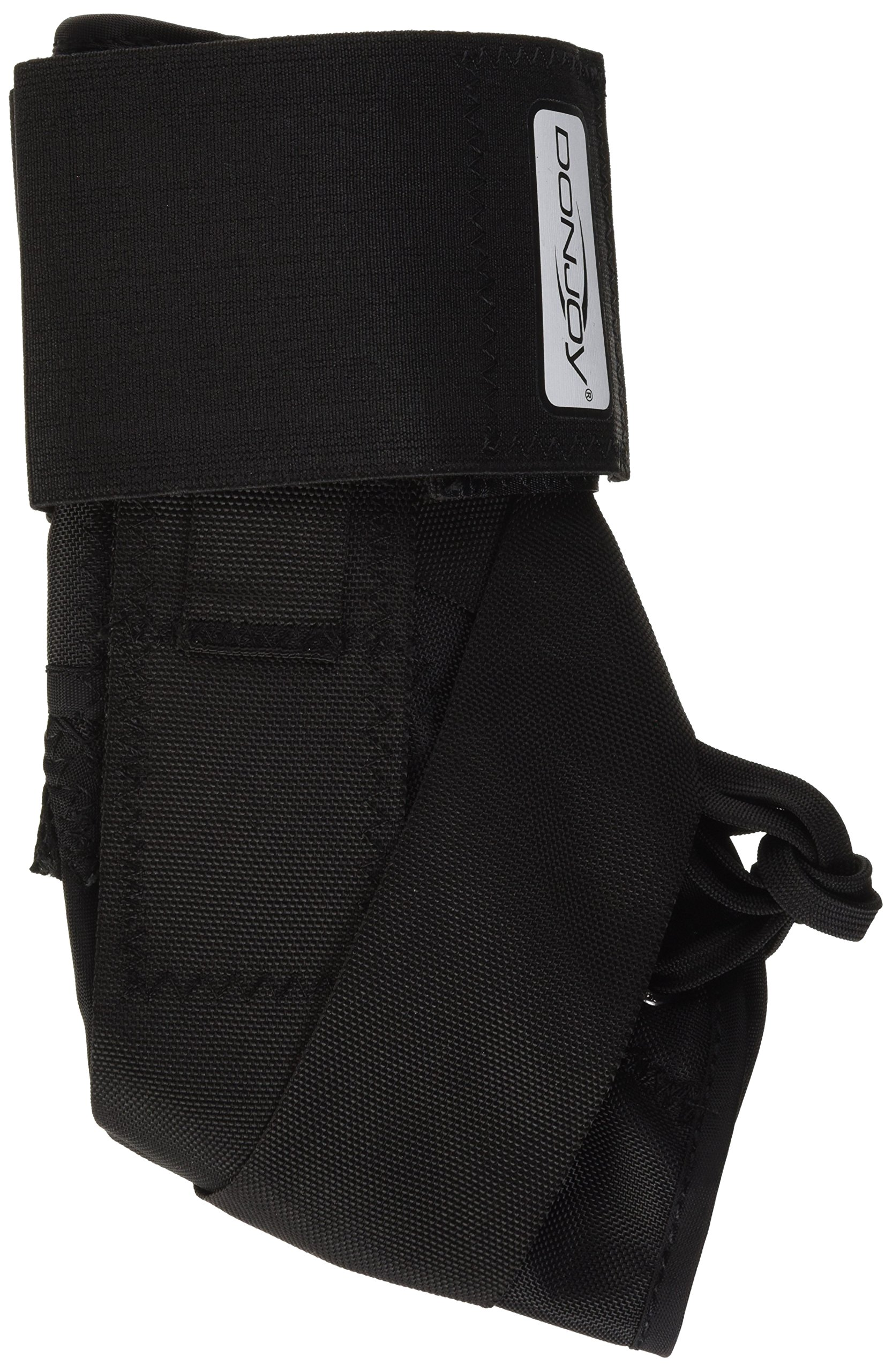 DonJoy Stabilizing Pro Ankle Support Brace, Black, Small by DonJoy