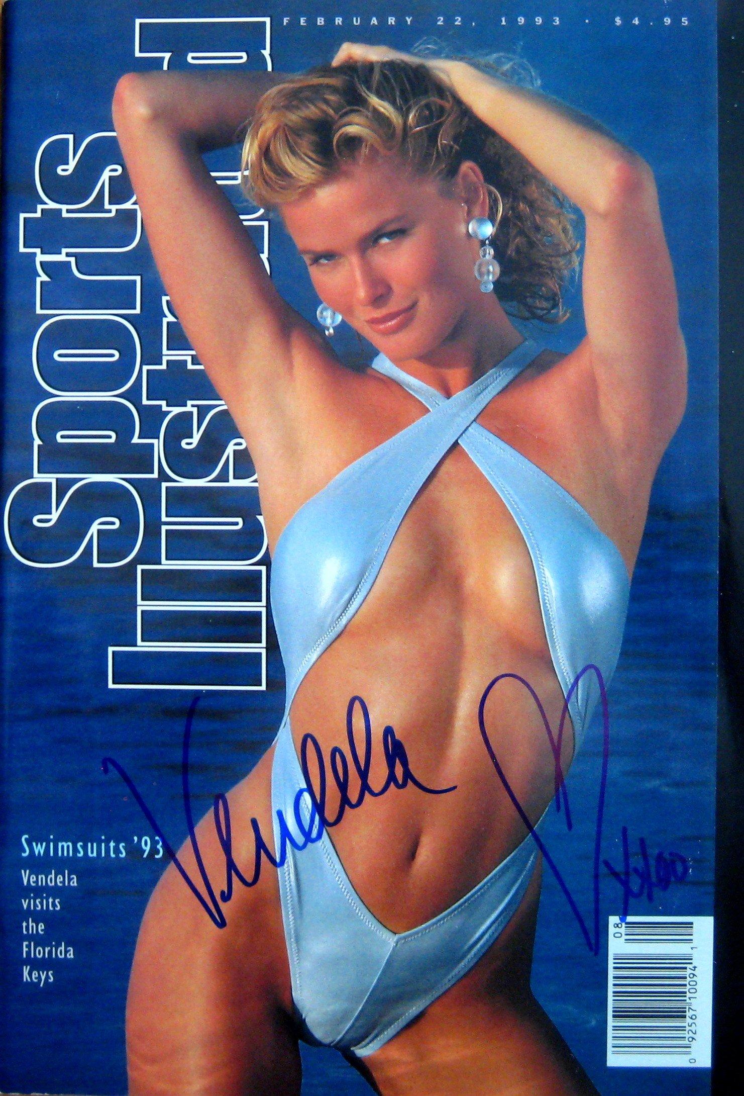 Kirsbom, Vendela 2/22/93 autographed magazine