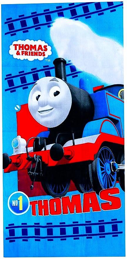 Thomas, la pequeña locomotora playa toalla, 70 x 140 cm, Art. 0144