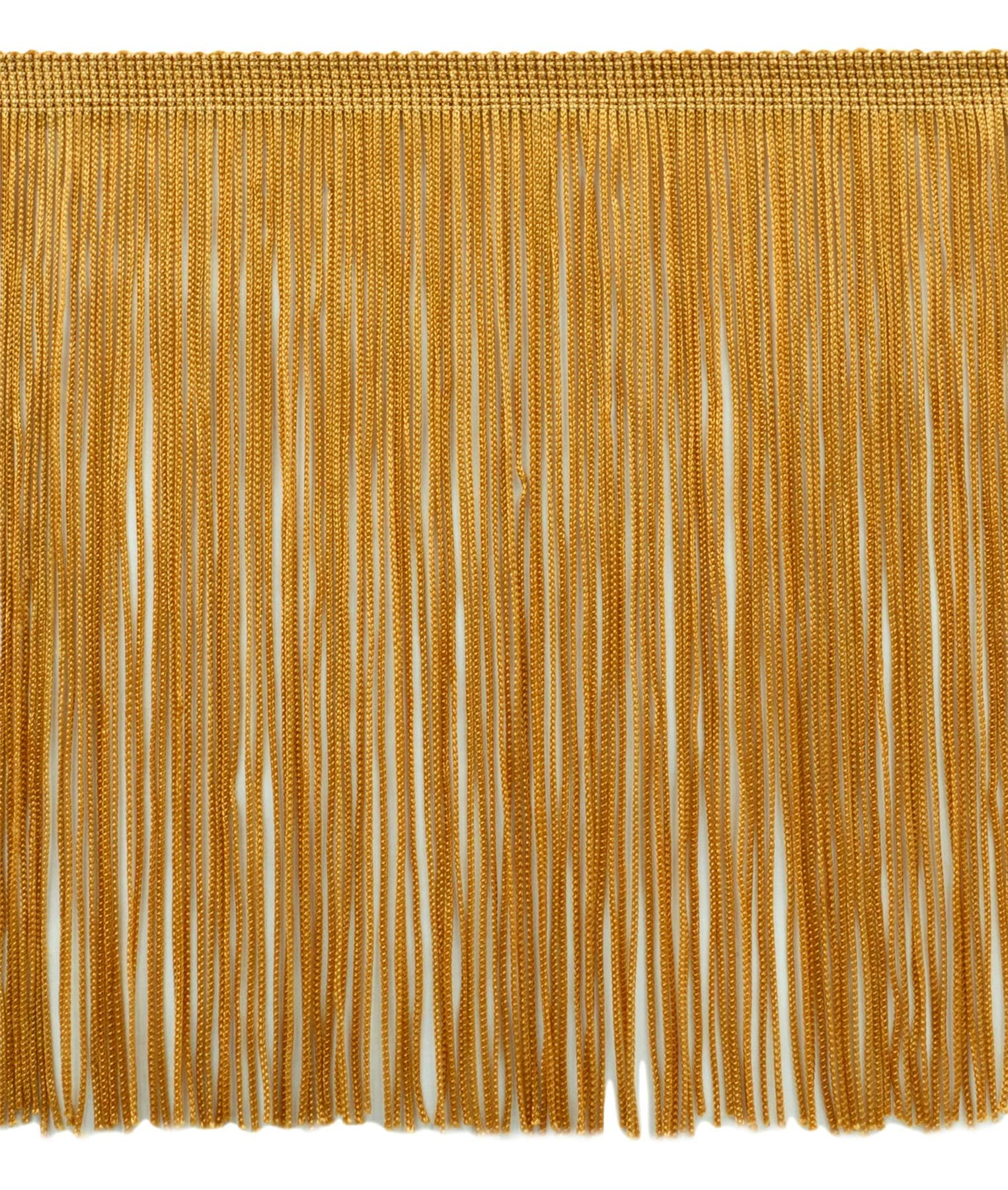 DÉCOPRO 11 Yard Value Pack of 8 Inch Chainette Fringe Trim, Style# CF08 Color: Gold - C4 (32.5 Feet / 10M) by DÉCOPRO