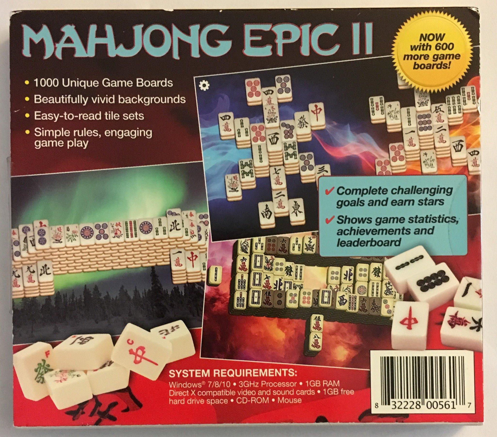 Mahjong Epic II PC
