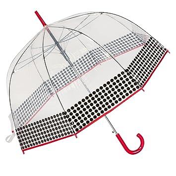 dc61cfe76 Amazon.com: ShedRain Bubble Auto Fashion Stick Umbrella, Yippyred, One  Size: SuperBlades