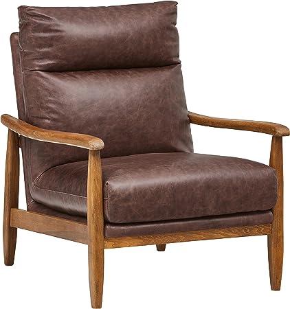 Stone & Beam Alderman Mid-Century Modern Accent Chair, 29.9\