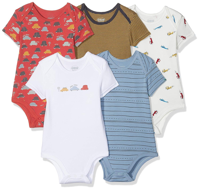 Mamas & Papas Baby Boys' Bodysuit Pack of 5 Mamas and Papas