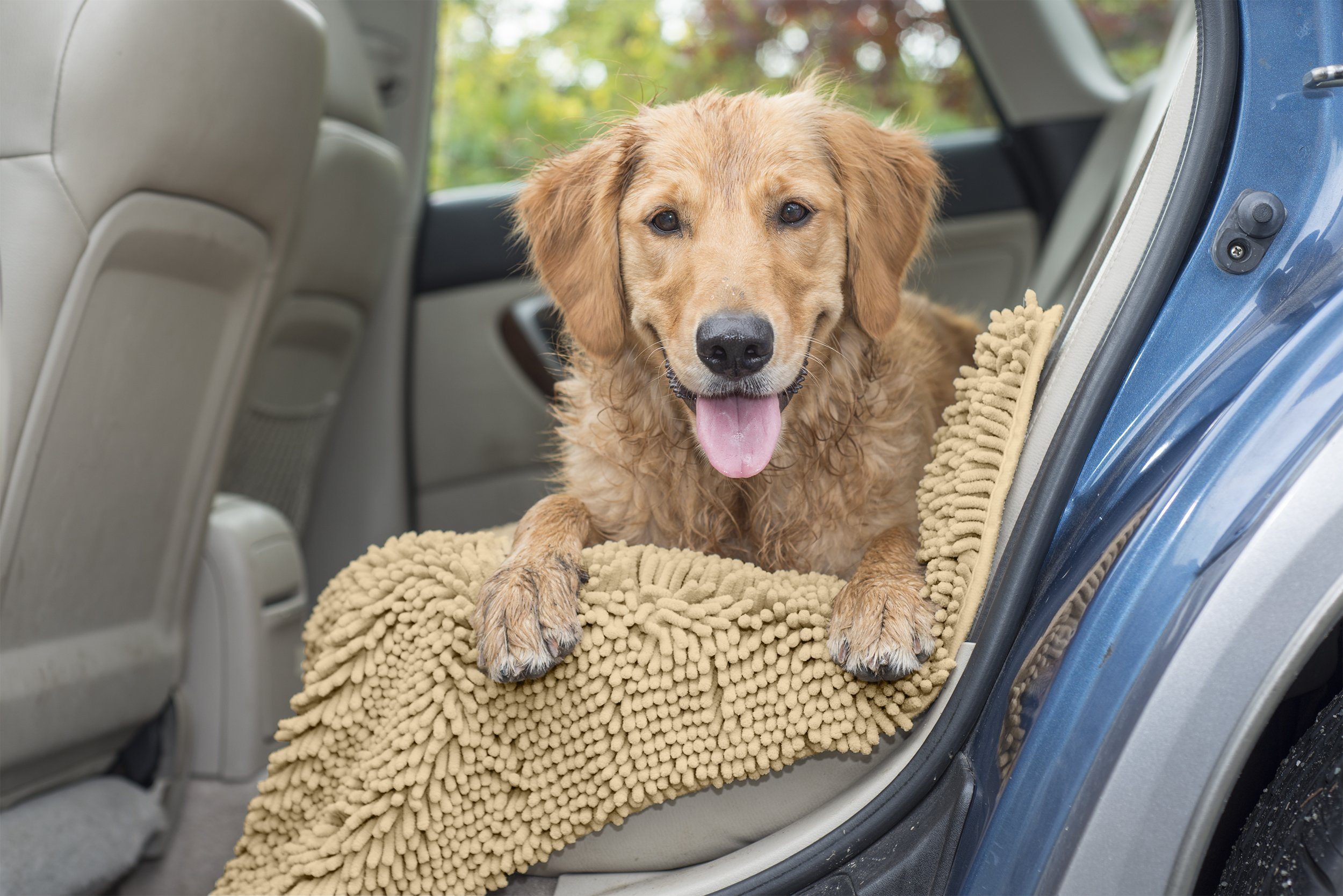 Furhaven Pet 80551613 Runner Muddy Paws Towel & Shammy Rug - Sand by Furhaven Pet (Image #5)