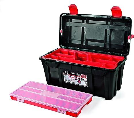 Tayg M255703 - Caja herramientas n.36 plastico: Amazon.es: Bricolaje y herramientas