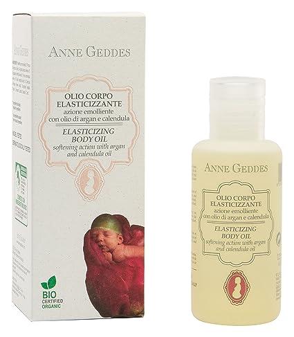 Anne Geddes AG00204 - Aceite corporal anti-estrías para la mamá, 125 ml