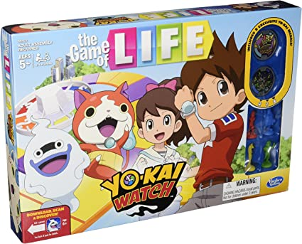 Amazon Com The Game Of Life Yo Kai Watch Edition Toys Games